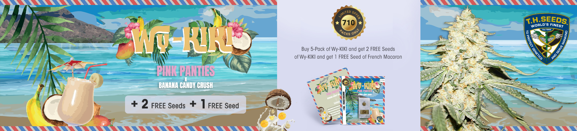 Wy-Kiki TH. Seeds new special release promo